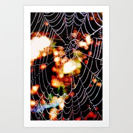Spider Love Once And Again #02 Art Print