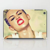 miley iPad Cases featuring Miley Cyrus by Nicolaine