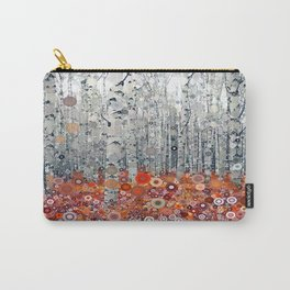 :: Run Free Woods :: Carry-All Pouch