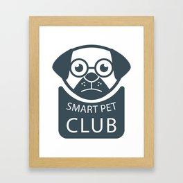 Smart Pet Club Framed Art Print