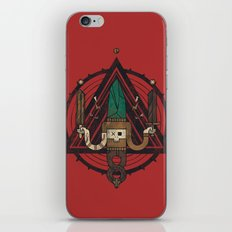 He, with the peculiar voice iPhone Skin