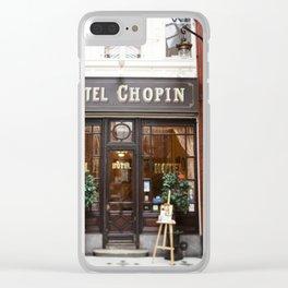 Hôtel Chopin Grands-Boulevards Paris Clear iPhone Case