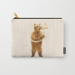The Bear and his Helicon Carry-All Pouch