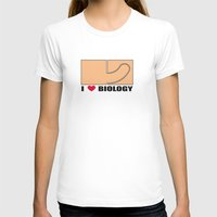 biology T-shirts featuring Biology by Andrew Mark Hunter