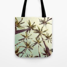 Palm Trees Sway  Tote Bag