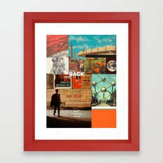 Welcome Back Framed Art Print