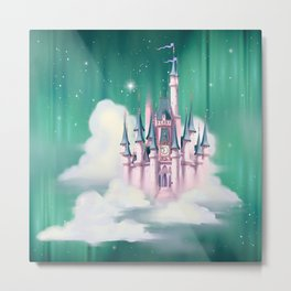 Star Castle In The Clouds Metal Print