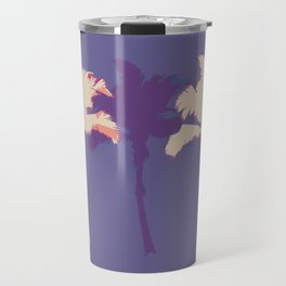 Alabaster Palm Tree Stamp Travel Mug