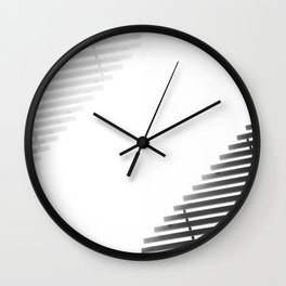 Diptych Wall Clock