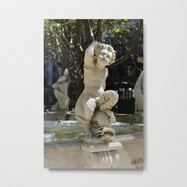 Plaza Matriz Montevideo Metal Print