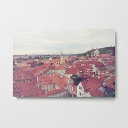 Prague Czech Republic Photography Rome Italy Sale Wall Decor Art Square Print Set Metal Print
