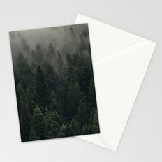 Trees and Fog Stationery Cards