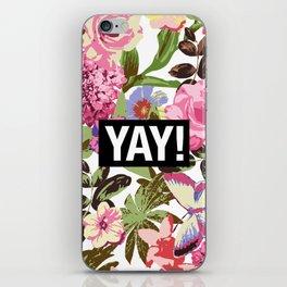 YAY! iPhone Skin