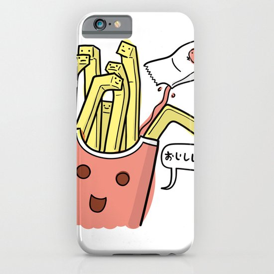 Friends Go Better Together 1/7 - French Fries and Ketchup iPhone & iPod Case