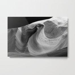 Stone Flow Metal Print