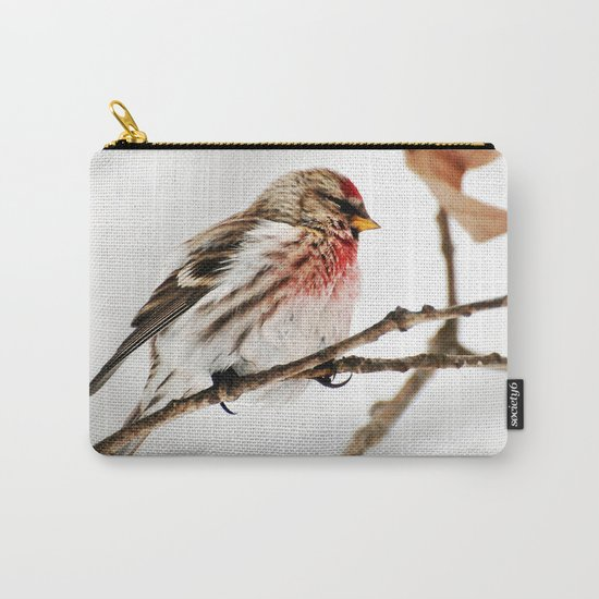 Common Redpoll Bird Carry-All Pouch