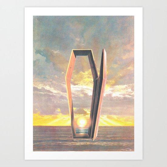 At Long Last (Death At Sea) Art Print