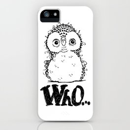 Who-Owl iPhone Case