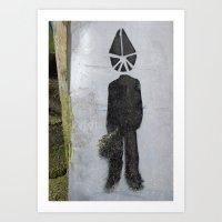 suit Art Prints featuring Suit  by Ethna Gillespie
