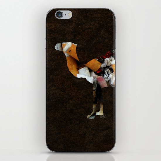 Camel Collage 3F iPhone & iPod Skin