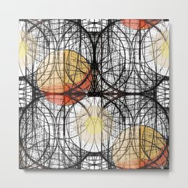 Earth Circles Metal Print