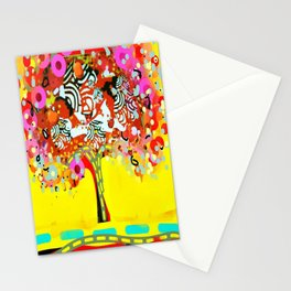 calipso fusion tree Stationery Cards