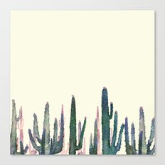 cactus vertical Canvas Print