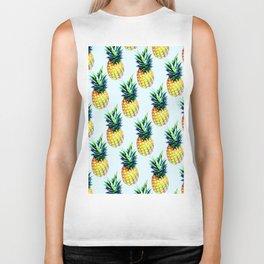 Pineapple Art VI Biker Tank