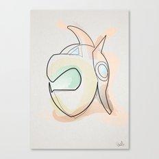 One Line Duke Fleed's Helmet Canvas Print