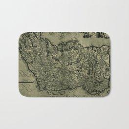 Map Of Ireland 1771 Bath Mat