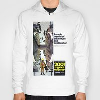 2001 Hoodies featuring 2001 by Neon Wildlife