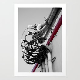 We've got our Wires Crossed Art Print