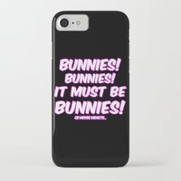 bunnies iPhone & iPod Cases featuring Bunnies by Nana Leonti
