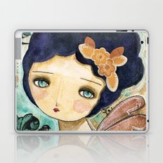 Charity Wings Watercolor Collage Laptop & iPad Skin