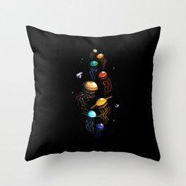 Univer-Sea Throw Pillow