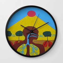 Breathe of Life Wall Clock