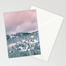 Blush Sky in Woodland Heights Stationery Cards