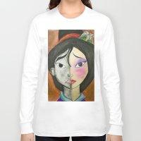 mulan Long Sleeve T-shirts featuring Mulan by Jgarciat