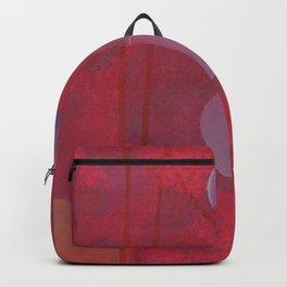 reddish sphere Backpack