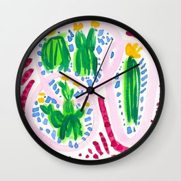 Flirty Girls Wall Clock