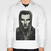 benedict Hoodies featuring Benedict Cumberbatch by Charlotte Hussey