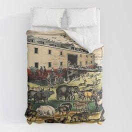 Noah's Ark  Currier & Ives  Comforters