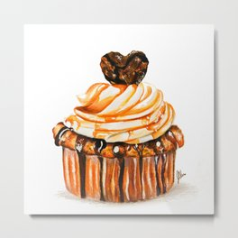 Caramel Delight Metal Print