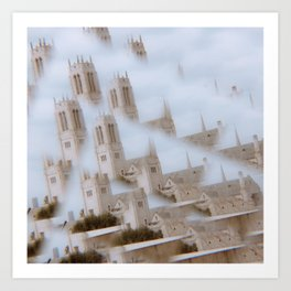 bell tower(s) Art Print