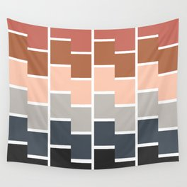 Modern Paint Chip Wall Tapestry