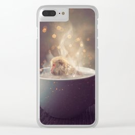 Snuggery Clear iPhone Case