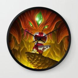 Blaster Master Wall Clock