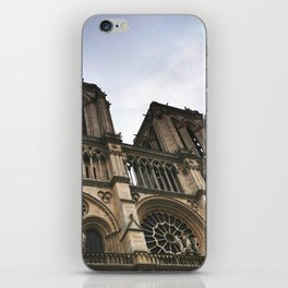 Notre Dame Towers iPhone Skin