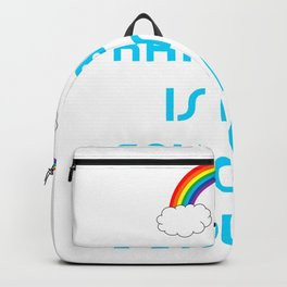 Rainbow is my favorite color Backpack