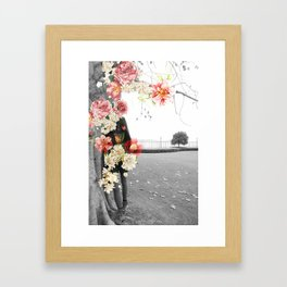 Poppy and Memory IV Framed Art Print